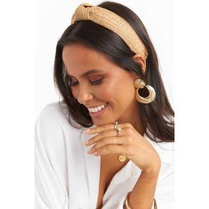 Accessories - Bohemian Goddess Natural Woven Rattan Headband